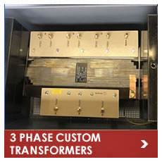 3 Phase Custom Made Transformers