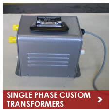 Single Phase Custom Transformers